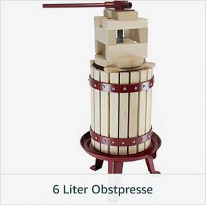 6 Liter Obstpresse